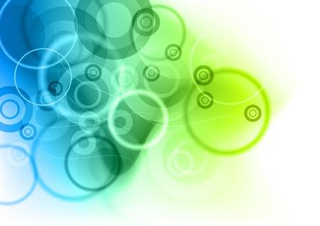 contexte abstrait bleu et vert