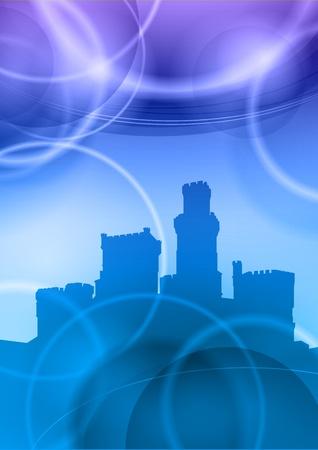 popular tale: castle under the blue heaven