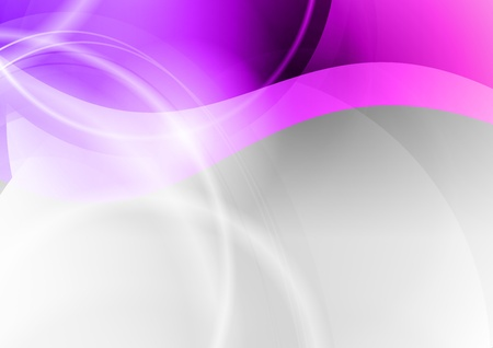 abstract wave backgroun in the purple Vector