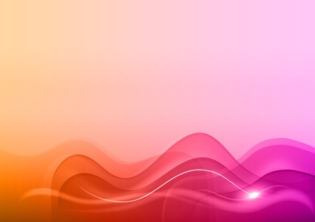 sweet abstract background with lighting waves Vector