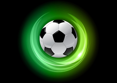 geen: geen abstract background with football