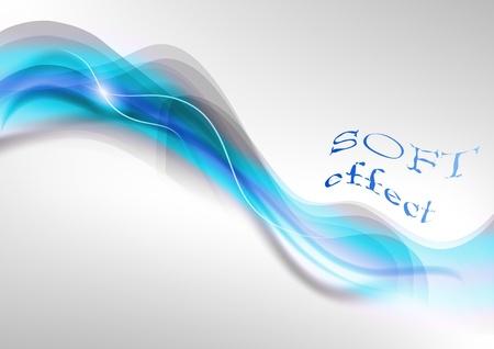 fumo blu: fumo blu sullo sfondo chiaro