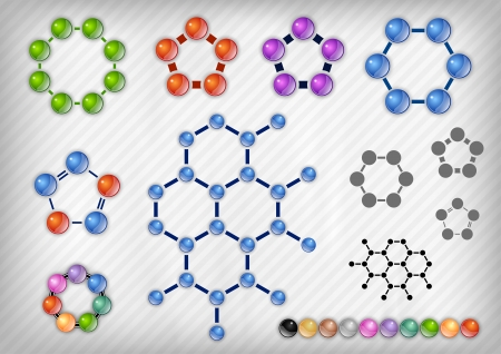 quimica organica: qu�mico en el fondo gris