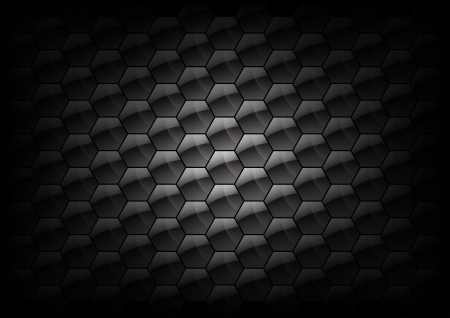 hexagon background texture - grey neutral color