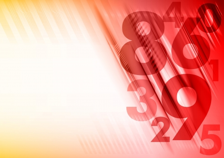arithmetic: numbers on the abstract red background