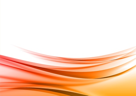 abstract red background on the white Stock Vector - 19719964
