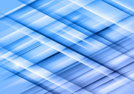rhomb: blue lines as abstract background Illustration