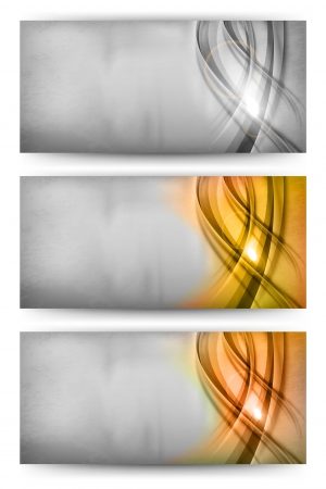 silver, gold and bronze abstract card Vector