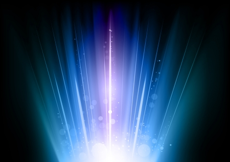 refrigerant: blue flares on the dark background