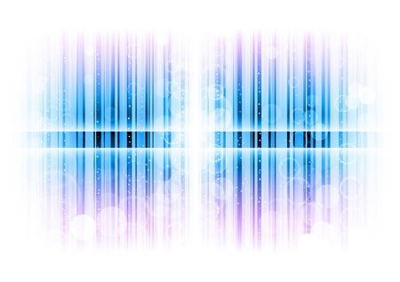 blue lines as abstract background Vector