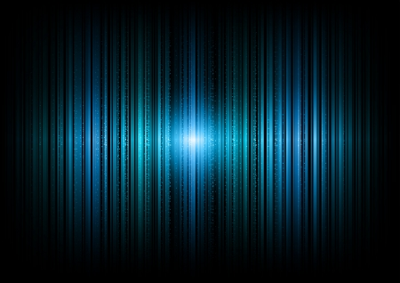 blue vertical lines in the dark space Stock Vector - 22103327