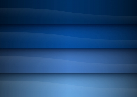 blue vector background as four stripes Vector