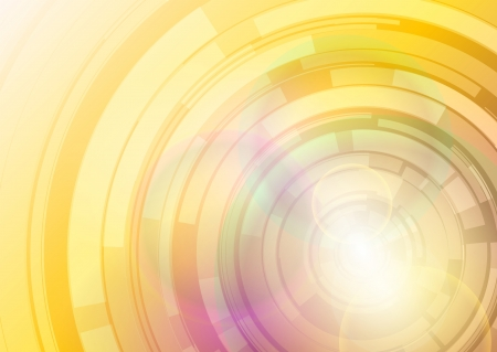 disc: shiny abstract background - gold discs