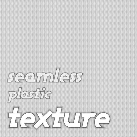 grey background: Texutre pl�stico sin costuras. Vector fondo gris.