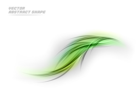 abstract vector: Abstract vector shape in the fresh colors.