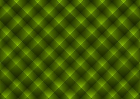 acolchado: Textura Pir�mide. Vector de fondo verde. (No sin problemas)