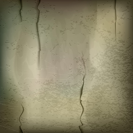 cleft: Texture of old wall. Vector background.