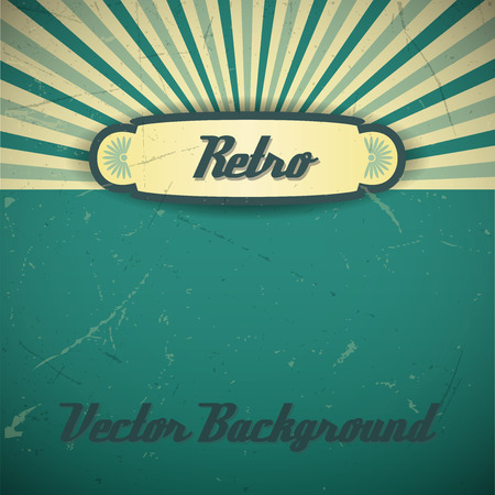 old items: Retro background. Vector texture looks like old items.