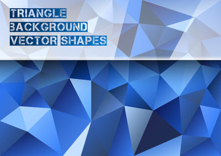 Triangles background. Vector abstract pattern. Illustration