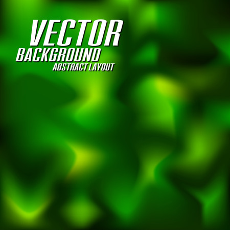 Abstract green background. Vector illustration. Vector