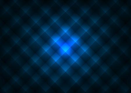 acolchado: Textura Pir�mide. Vector de fondo azul.