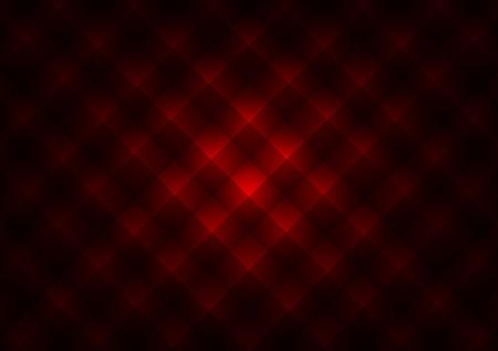acolchado: Textura Pir�mide. Vector de fondo rojo. (No sin problemas)