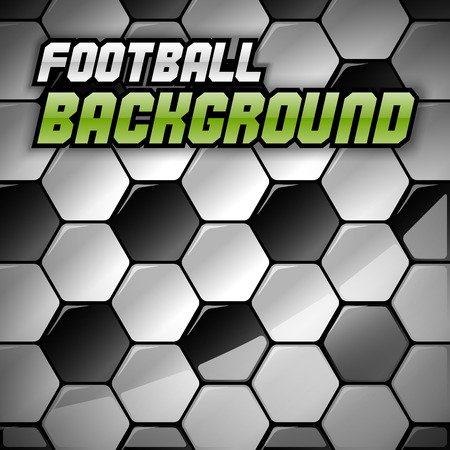 plastic texture: Football background. Vector soccer texture as abstract background. (not seamless) Illustration