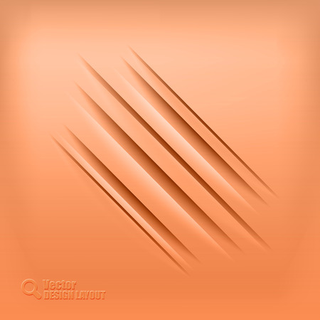 Red background with diagonal shadows. Vector elements. Vector