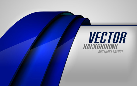 to revolve: Dark blue lines as modern layout. Vector background.