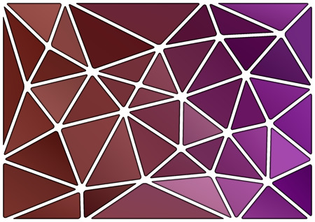 vitrage: Triangles background with white stroke. Vector abstract pattern.
