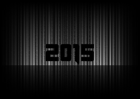 numbers abstract: New year 2015. Abstract background with numbers