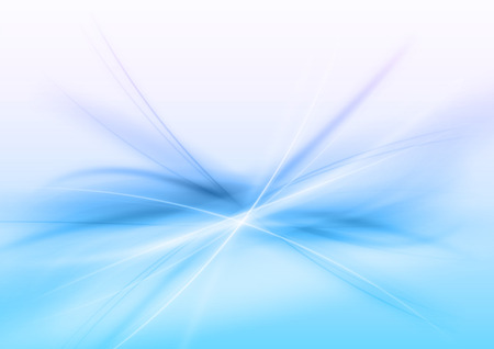 the energy center: Abstract blue background. Vector illustration.