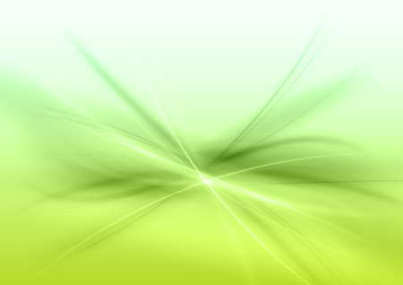 the energy center: Abstract green background. Vector illustration.