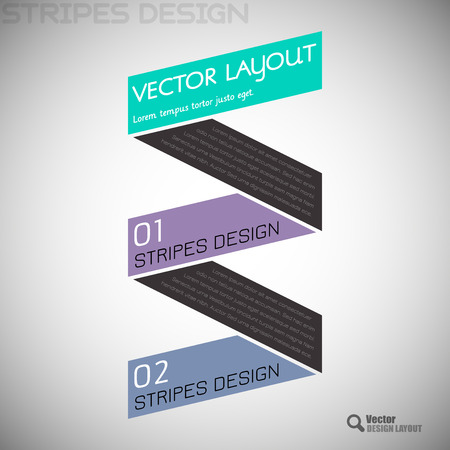 compare: Modern flat design. Vector infographic. Simple layout. Illustration