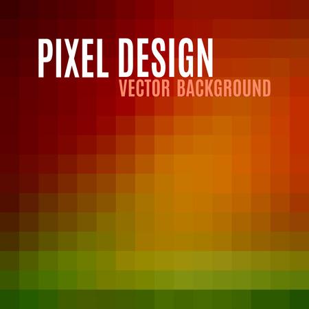 pixelate: Pixel design. Abstract vector background.