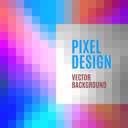 psycho: Vector texture. Pixel art background with psycho colours.