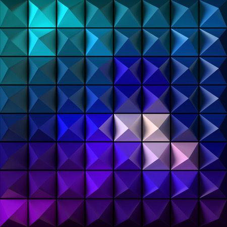 modern wallpaper: Pyramid as abstract background. 3D rendered pattern.