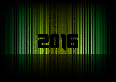 numbers abstract: New year 2016. Abstract background with numbers.  Illustration