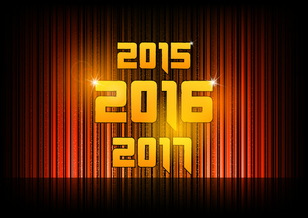 numbers abstract: New year 2016. Abstract background with numbers Illustration