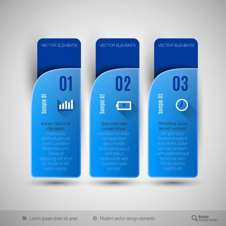 web design elements: Modern  design elements for infographics, print layout, web pages.
