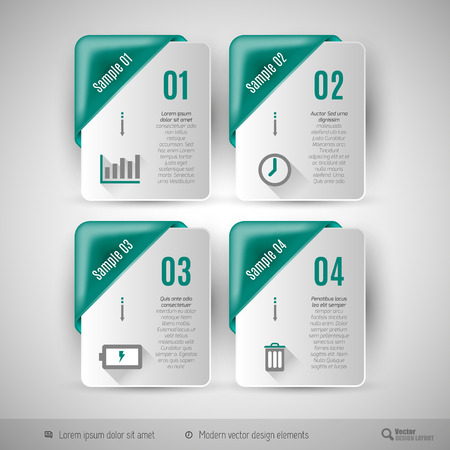 business idea: Business infographics template for web design, presentation, education, brochures and flyers.