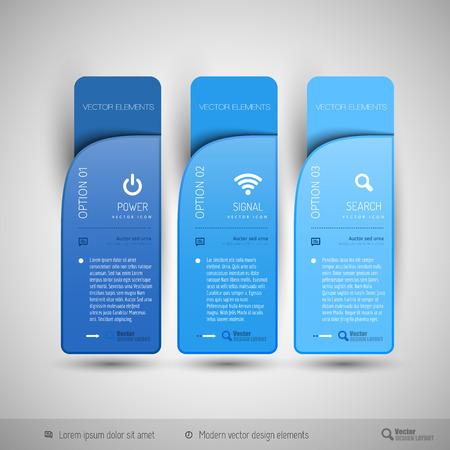 인포 그래픽, 인쇄 레이아웃, 웹 페이지에 대한 현대적인 디자인 요소입니다. 일러스트