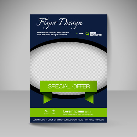 cover book: Template for brochure or flyer. Editable site for business, education, presentation, website, magazine cover.