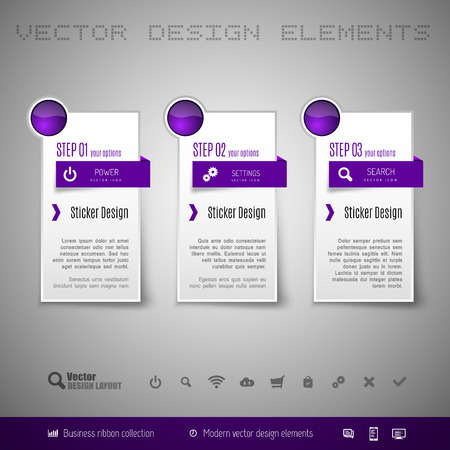 elements design: Modern vector design elements for infographics, print layout, web pages.
