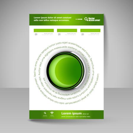 portadas de libros: Plantilla para el folleto o volante. Web editable para los negocios, la educación, la presentación, sitio web, portada de la revista. Vectores