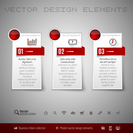 Modern Vector Design Elements For Infographics, Print Layout ...