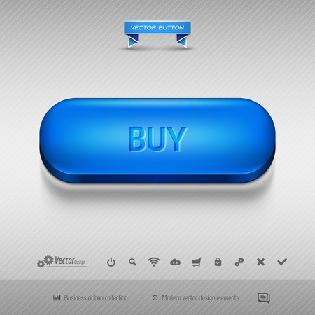 buttons web: Business web buttons for website or app. Vector design elements.