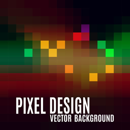 pixelate: Pixel abstract background. Colorful mosaic. Modern vector design elements. Illustration