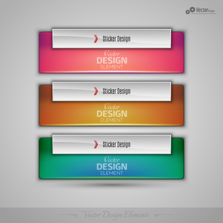 sell: Business stickers on gray background for infographics, webdesigns, apps. Vector editable design elements.