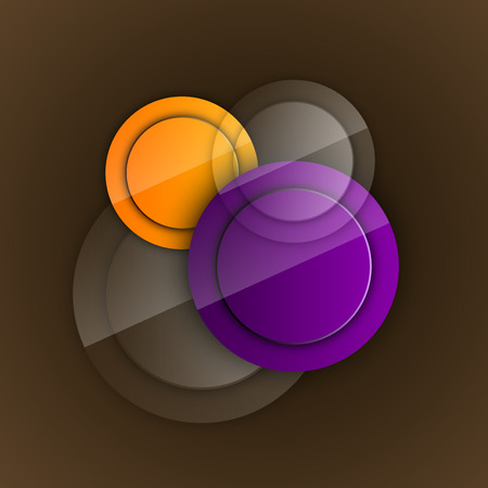 abstract design elements: Abstract background with glossy circles. Vector design elements. Glossy buttons.